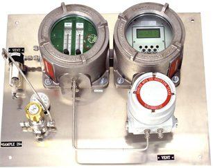 Electrochemical H2S in Gas Analyzer